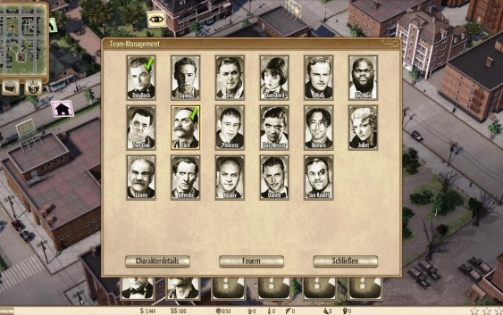 Omerta: City of Gangsters – ระบบแก็งค์