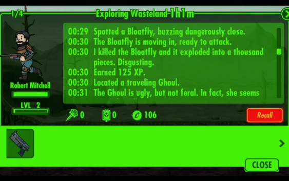Fallout Shelter : First Explorations