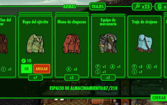 Fallout Shelter : วิธีหาอาวุธและชุดป้องกัน