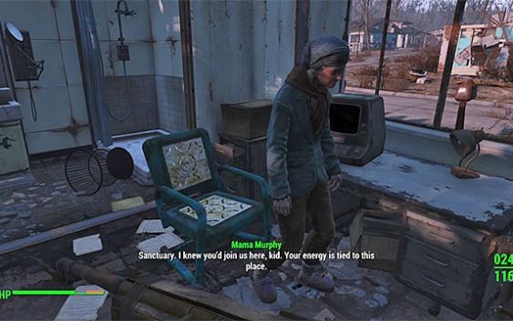 Fallout 4 : เควสย่อย Minutemen – Mama Murphy
