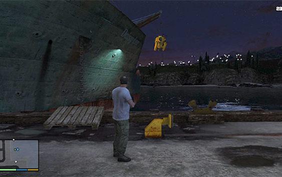 บทสรุป GTA V ตอนที่31 : Minisub