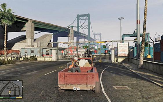 บทสรุป GTA V ตอนที่30 : Scouting the Port