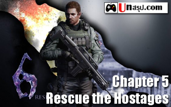 บทสรุป Resident Evil 6 [Chris] – Chapter 1 – Rescue the Hostages