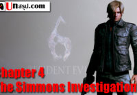 บทสรุป Resident Evil 6 [Leon] – Chapter 4 – The Simmons Investigation