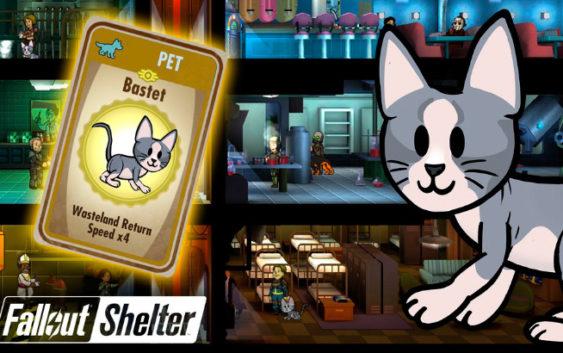 Fallout Shelter : ระบบสัตว์เลี้ยง
