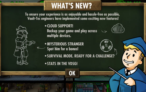 Fallout Shelter : Mysterious Stranger