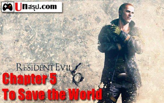 บทสรุป Resident Evil 6 [Jake] – Chapter 5 – To Save the World