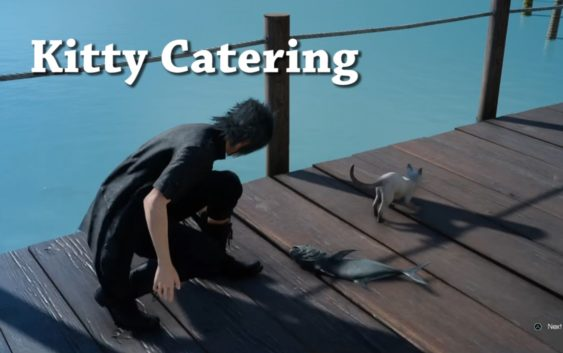 Final Fantasy XV – Side Quest – Kitty Cateing