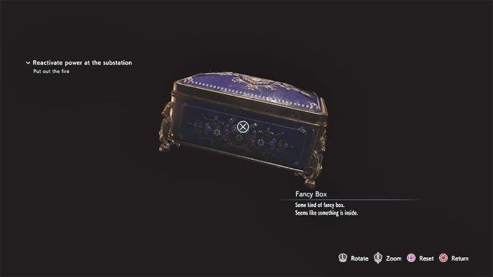 Resident Evil 3 เพชรสีแดง (Red jewel)