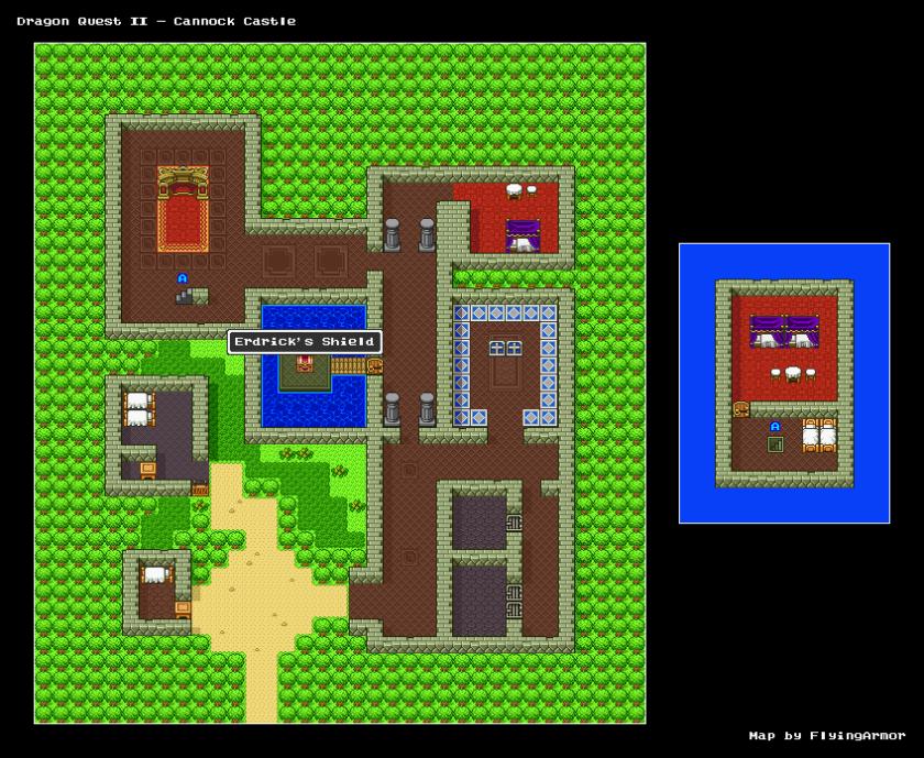 บทสรุป Dragon Quest II - ปราสาทซามัลโตเรีย