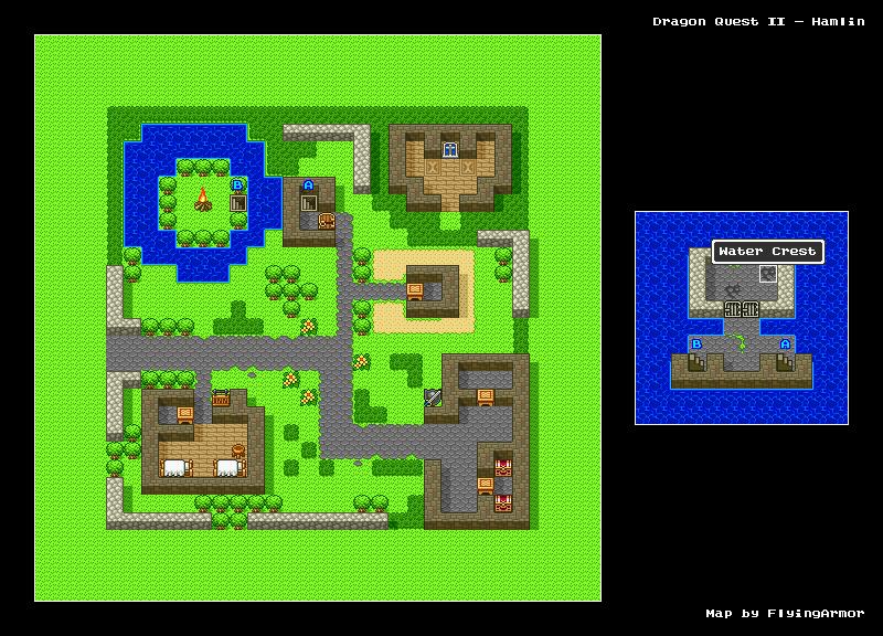 บทสรุป Dragon Quest II - หมู่บ้านมูนเปต้า