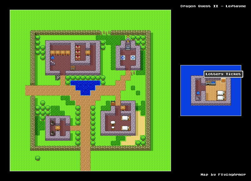 บทสรุป Dragon Quest II - เมืองริริซ่า