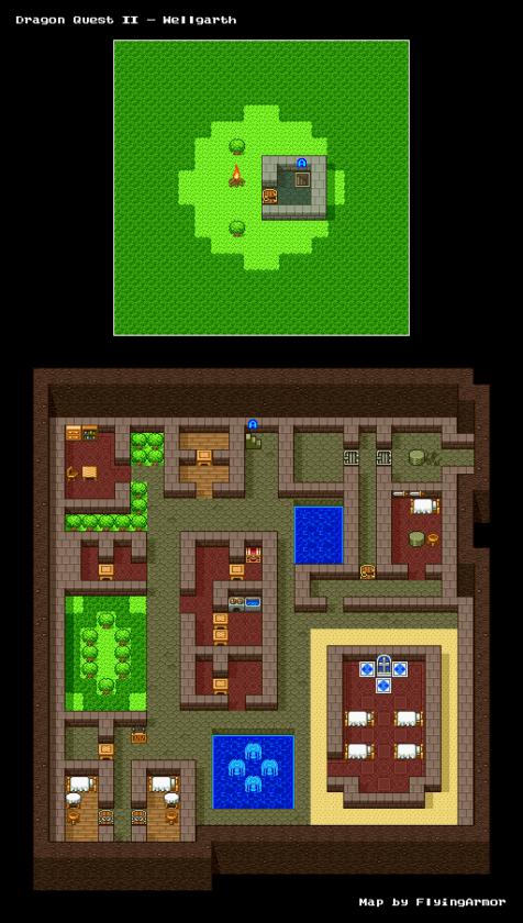 บทสรุป Dragon Quest II - หมู่บ้านเพลบอย