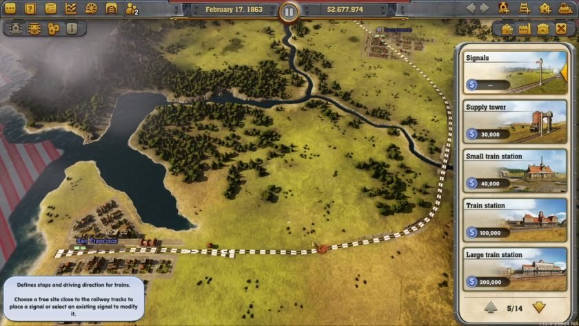 Railway Empire : Chapter 5 - Sierra Nevada