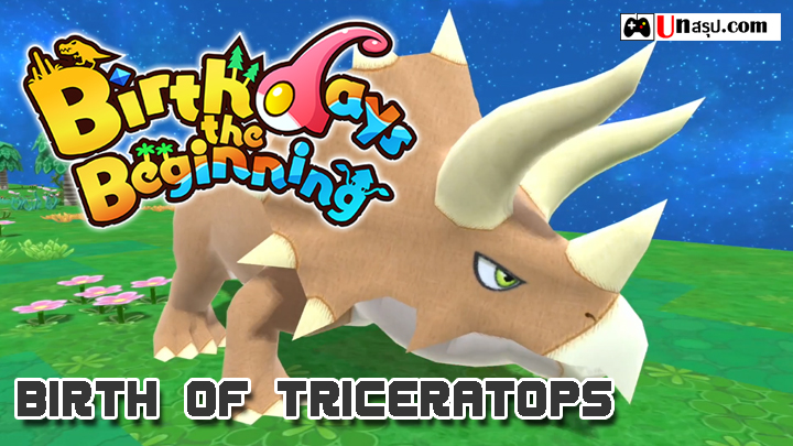 Birthdays the Beginning : Challenge5 Birth of TRICERATOPS